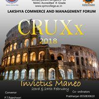 Cruxx2018 INVICTUS MANEO