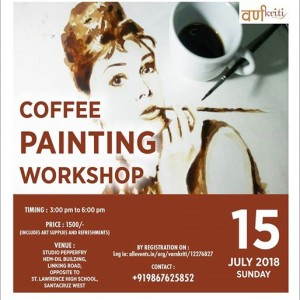 Coffee Painting Workshop