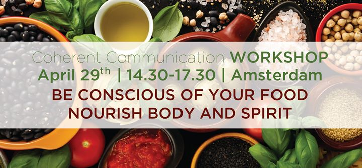 Workshop Be conscious of your food - Nourish body and spirit