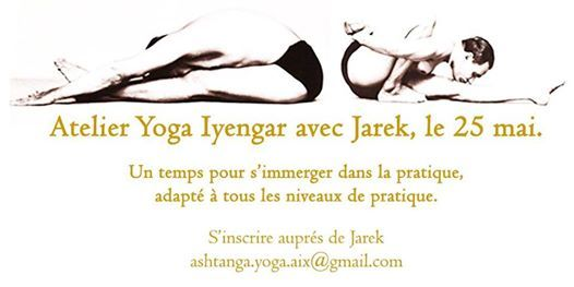 Atelier Yoga Iyengar avec Jarek