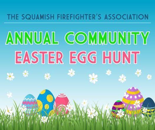 Annual SFFA and Squamish Fire Easter Eggstravagnaza