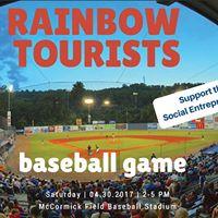 Rainbow Tourists Baseball Game