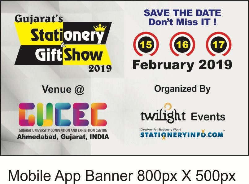 Gujarats Stationery & Gift Show 2019