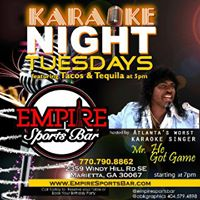Karaoke &amp Networking Tuesdays