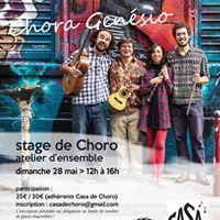 Stage de Choro  atelier densemble avec Chora Gensio