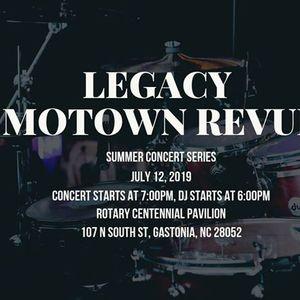 Summer Concert Series- Legacy Motown Revue