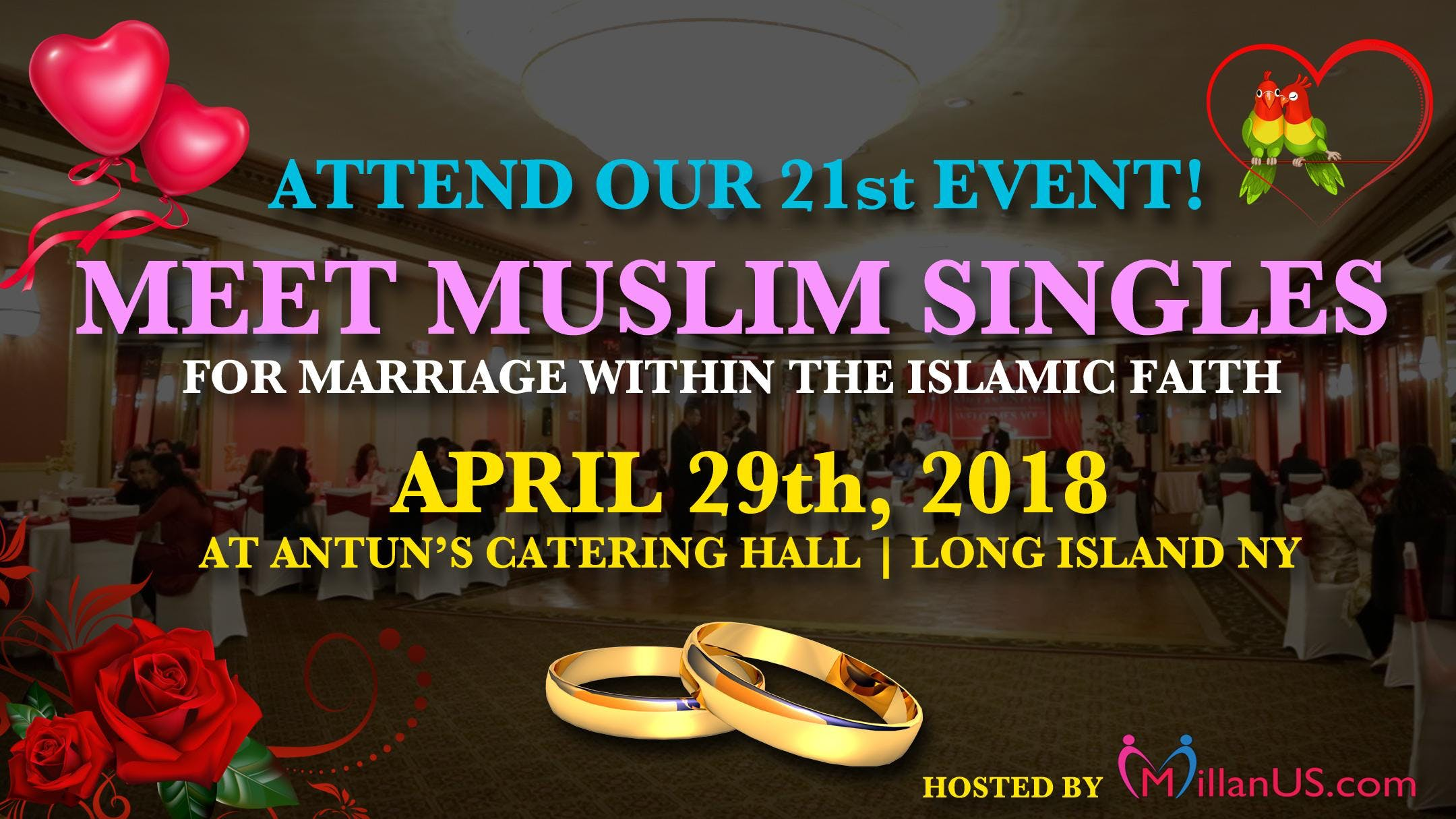 Muslim singles event