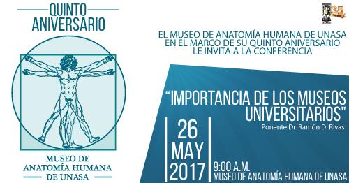 Celebración Quinto aniversario de Museo de UNASA. at Museo De ...