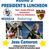 Round 3 Presidents Luncheon featuring Jess Cameron