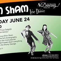 Shim Sham Line Dance with Jeff &amp Mimi Liu-Leyco