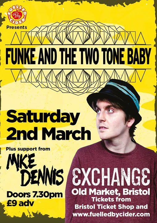 Funke & The Two Tone Baby  Mike Dennis