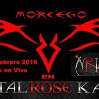 Morcego en Metal Rose Kafe