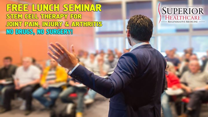 Free Seminar Stem Cell & Regenerative Therapy for Joint Pain