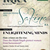 Womens Islamic Seminar Reflections on Sakina (RA) &amp Hate Crime Awareness