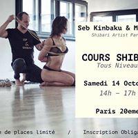 Cours Shibari Tous Niveaux  Seb Kinbaku &amp Malice