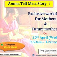 Amma Tell me a Story  - Exclusive workshop for mothers