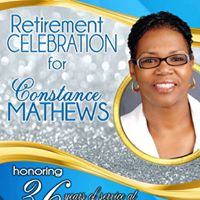 Retirement Celebration for Constance Mathews