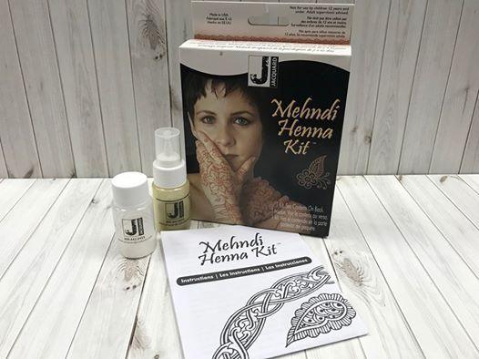 Mehndi Henna Kit Demo At Craft Warehouse Salem