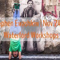 Stephen EwashkiwAdventure Yoga workshopHouse of Yoga Waterford