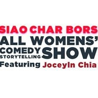 Siao Char Bors Comedy Show ft Jocelyn Chia