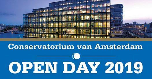 Open Day Conservatorium van Amsterdam