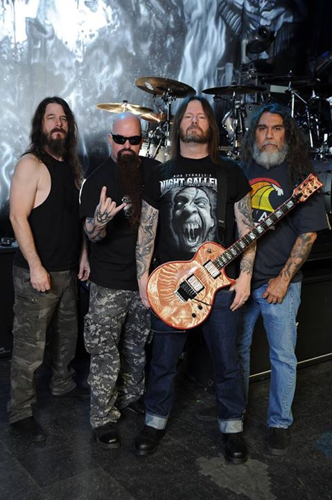 Slayer with Lamb of God Anthrax Behemoth and Testament
