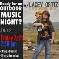 A Music Night with Lacey.