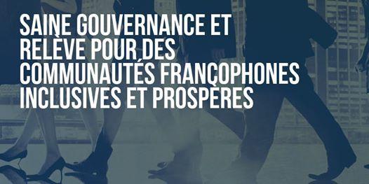 Saine gouvernance et relve pour des communauts francophones