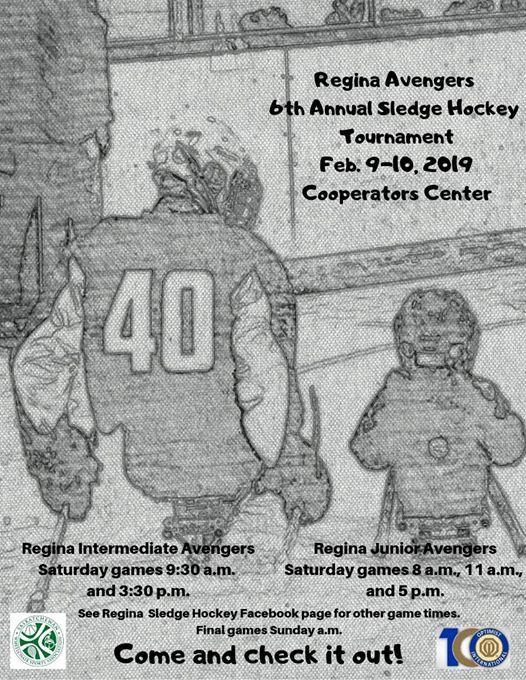 Regina Sledge Hockey Tournament At The Co Operators Centre1700