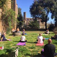 Yoga e Bagno di Gong nel verde della Tuscia
