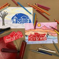 Family Sundays Tiny Town Prints for Culture Days