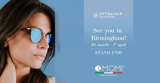 3MOMI at Optrafair - Birmingham Stand F100