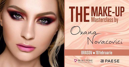 Brasov Make-up Masterclass by Oxana Novacovici