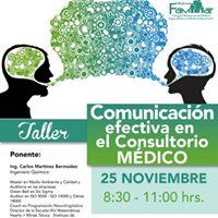 Taller Comunicacion efectiva en el consultorio medico