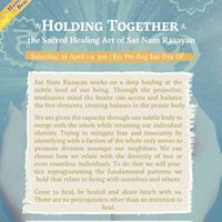 Holding Together The Healing Art of Sat Nam Rasayan