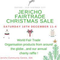 Jericho Fairtrade Christmas Sale