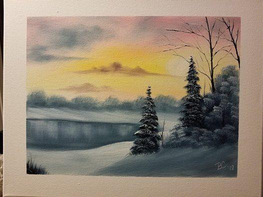 Bob Ross Painting Classes