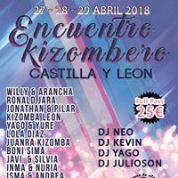 Encuentro Kizombero de Castilla y Len (Oferta de lanzamiento)