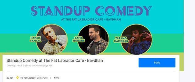 Stand up comedy - The Fat Labrador Cafe