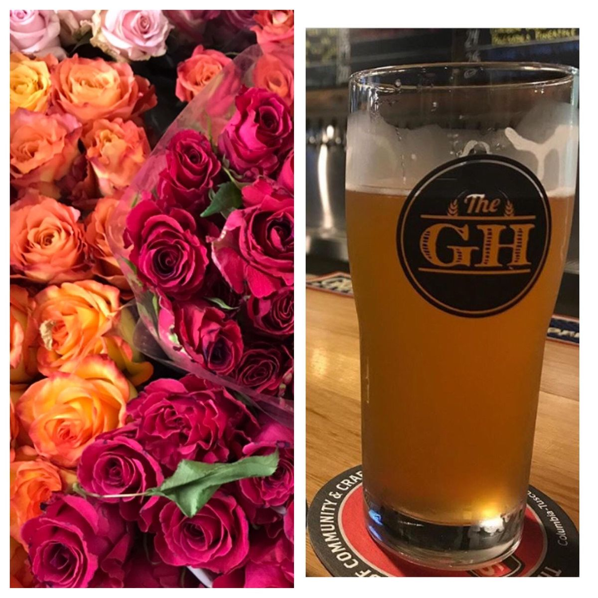 Sunday FUNday Flowers at The Growler House