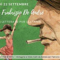 Ballata per Fabrizio De Andr  QuelliCheNon Live a Lettera 82