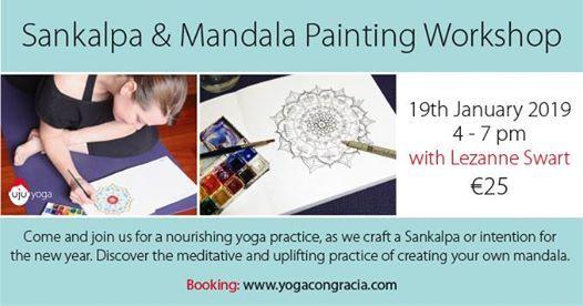 Sankalpa & Mandala Painting Workshop