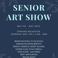 Senior Art Show 2017