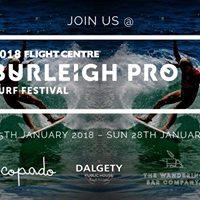2018 Flight Centre Burleigh Pro Surf Festival