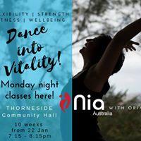 10 Week Nia-Bliss in Thorneside