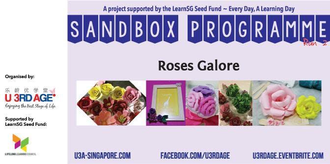 Roses Galore AprMay Mon 2pm