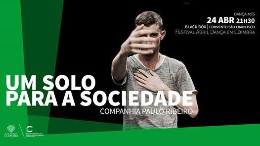 Um Solo para a Sociedade  Companhia Paulo Ribeiro