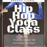Hip Hop Yoga Class with Alli Flores