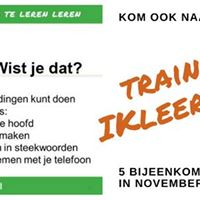 Training IKleerleren