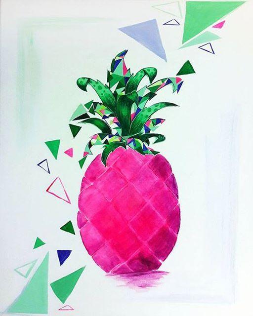 ArtMasters - PAINT PARTY - Pineapple Splash